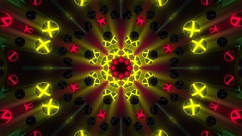Kaleidospheres VJ Loop 25 Animación
