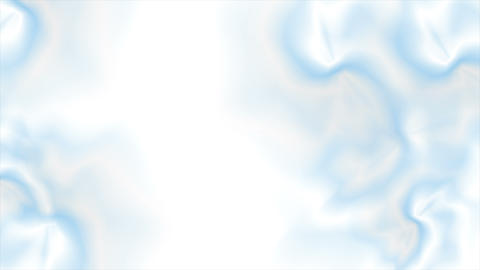 Abstract flowing light blue gradient video animation Animation