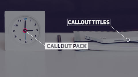 12 Call-Out Titles Premiere Pro Template   10790028