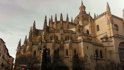 The Cathedral of Segovia, Spain GIF