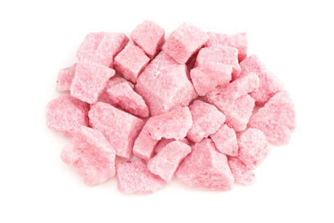 Pink fruit lump chopped sugar Photo