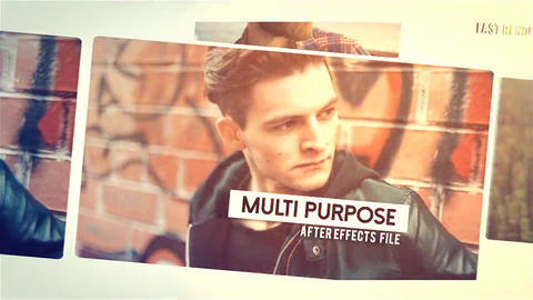 Stylish Quick Promo After Effects Template