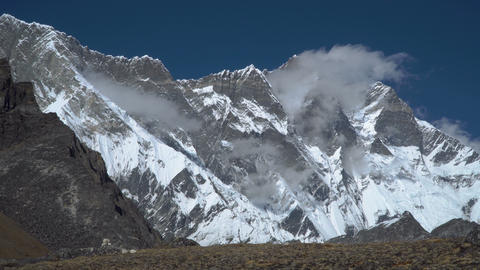 The beauty of the Himalayan mountains Footage
