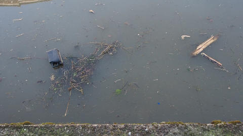 Water canal pollution Live Action