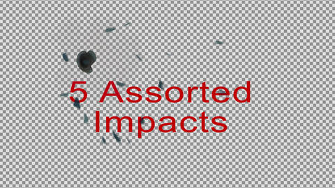 4K Bullet Holes On Painted Metal For AE After Effects Template