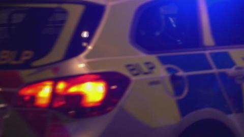 London Police car - LONDON, ENGLAND Footage