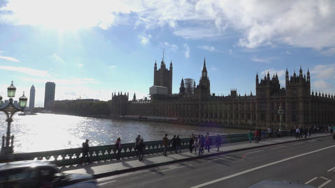 Westminster Palace - LONDON, ENGLAND Live Action
