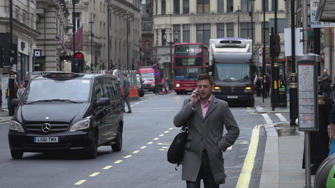 Regent Street London Westminster - LONDON, ENGLAND Live Action