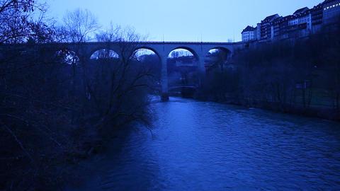 Bridge at Switzerland Footage