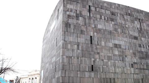 VIENNA, AUSTRIA - AUGUST 08, 2015: Mumok (Museum Moderner Kunst) Or Museum of Live Action
