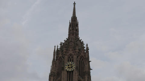 Cathedral tower closeup gothic religious architecture 画像
