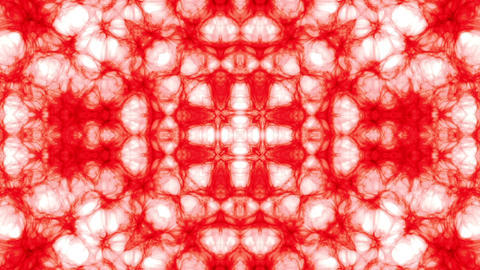 white and red kaleidoscope Animation