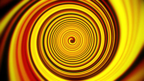 Gold Yellow Space Time Warp Tunnel Vortex Loopable Motion Background Animation
