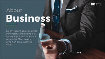 Corporate Presentation Slideshows After Effects Template