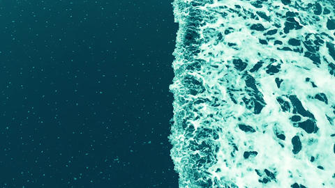 ocean, sea, wave, waves, water, background, blue, beach, view, nature, summer, Footage