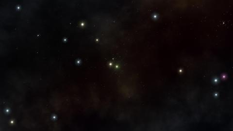 Flying In Stars Universe 動画素材, ムービー映像素材
