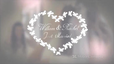 Unique Wedding Titles Pack Motion Graphics Template