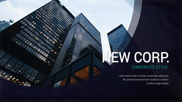 New Corporate After Effects Template