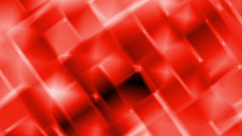 Red Abstract Shimmering Squares Motion Background Loop Animation