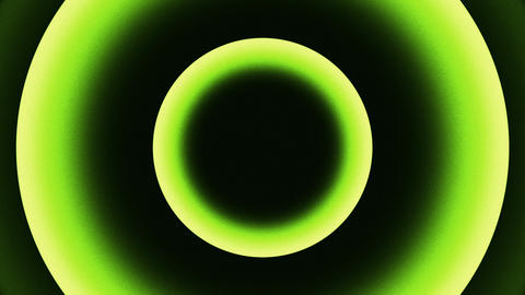 Green Yellow Concentric Circles Abstract Background 1 Animation