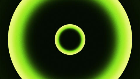 Green Yellow Concentric Circles Abstract Background 2 Animation