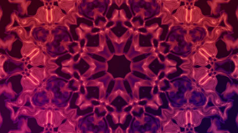 Kaleidoscope Flowers Stock Video Footage