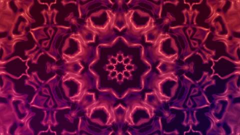 Kaleidoscope Flowers stock footage