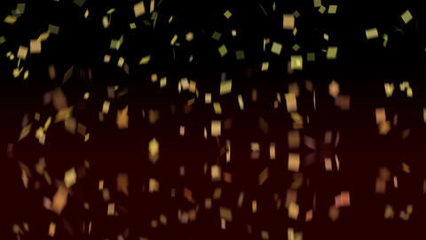Rotating Confetti Stock Video Footage