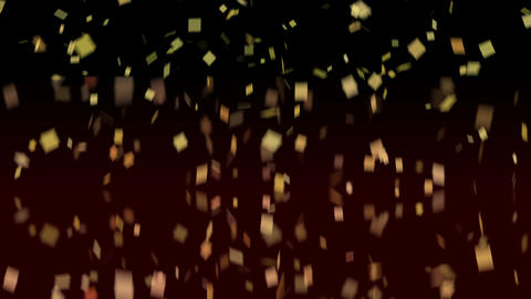 Rotating Confetti Animation