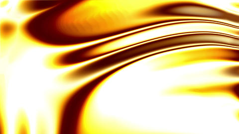 Glowing Liquid Gold Animation
