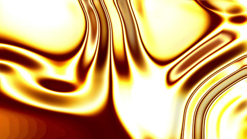 Glowing Liquid Gold Stock Video Footage