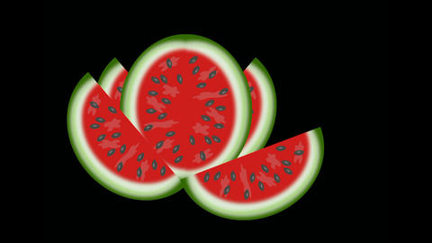 watermelon Stock Video Footage