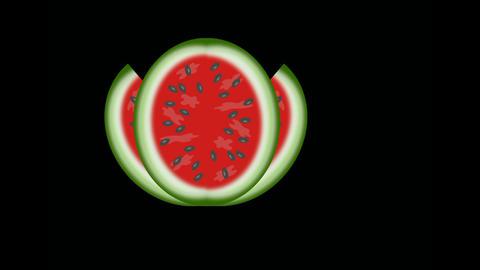 watermelon Stock Video Footage