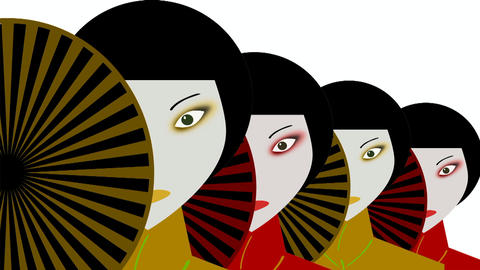Japanese women Animation