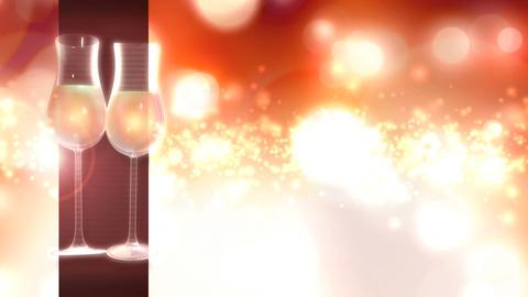 Celebration Title BG 001 Loop Photo JPEG Stock Video Footage