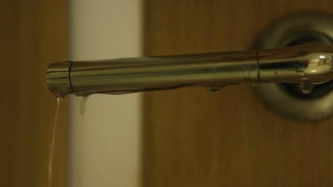 door and water Stock Video Footage