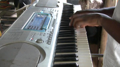 african musician Stock Video Footage