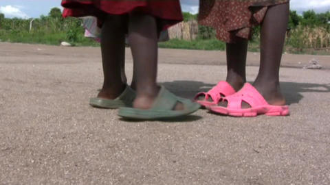 African children Stock Video Footage