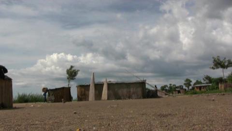 African village Footage