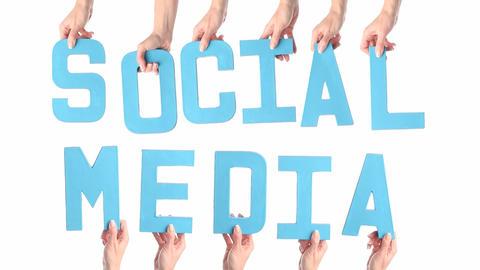 Social Media stock footage
