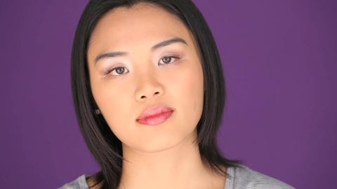 Asian woman Stock Video Footage