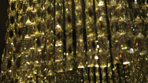 lamp gold Stock Video Footage