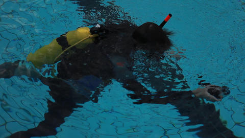 diving pool 12 Stock Video Footage