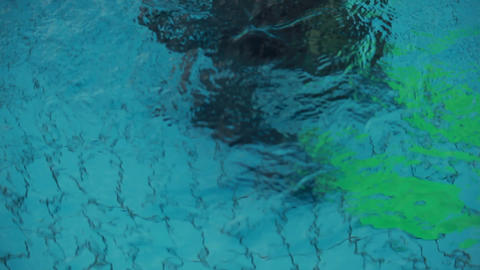 diving pool 18 Stock Video Footage