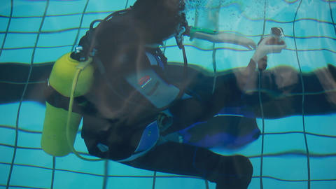 diving pool 22 Stock Video Footage