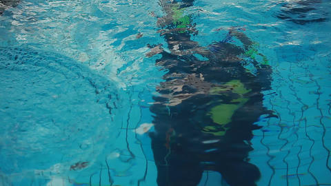 diving pool 26 Stock Video Footage