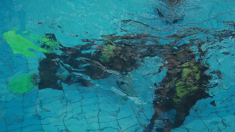 diving pool 31 Stock Video Footage