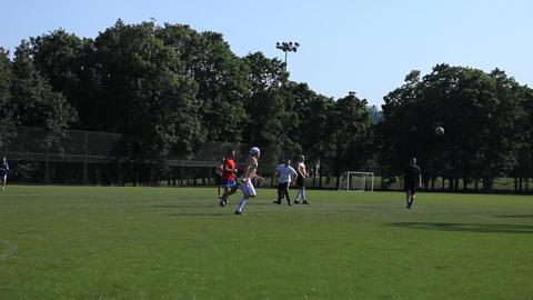 football 02 Stock Video Footage