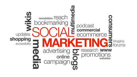 Social Marketing stock footage