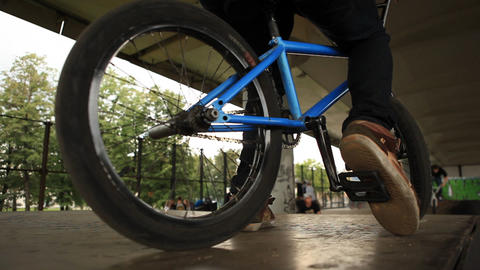 bicycle 05 Stock Video Footage